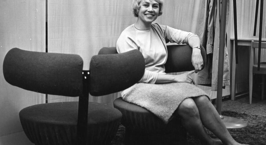 Designer Nanna Ditzel (1923-2005).