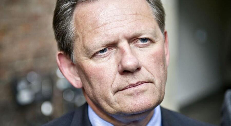 Lars Barfoed (K) er stærkt utilfreds med det nye medieforlig.