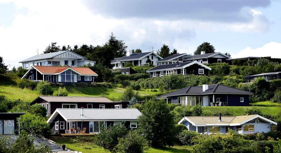 Ebeltoft er det mest foretrukne sommerhusområde på landsplan.