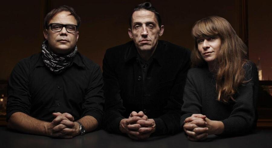 »Nattevagterne« indleder Radio24syv natten til 1. november. Fra venstre: Ulrik Crone, Keith Lohse og Anna Maria Helgadottir.