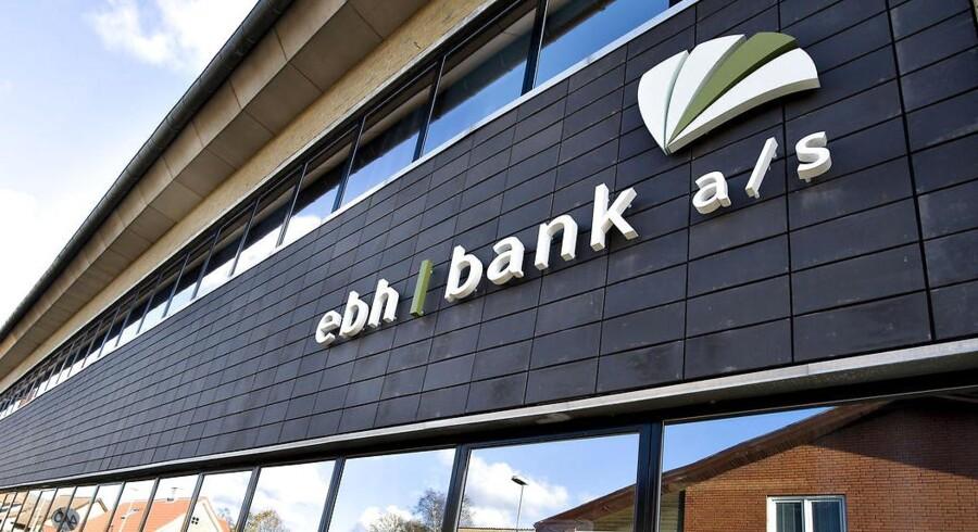Ifølge EBH Banks bestyrelse roste Finanstilsynet bankens for dens udlån inden krakket.