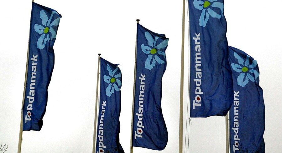 TopDanmark bannere i Ballerup.