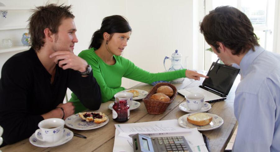 Banken vurderer din kreditværdighed og inddeler kunderne i forskellige risikogrupper.