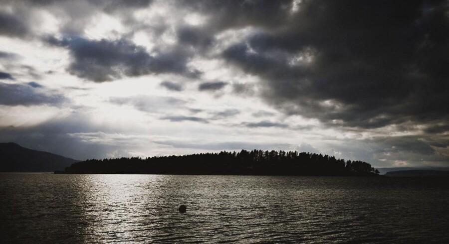 I Tyrisfjorden en times kørsel fra Oslo ligger den lille ø Utøya.