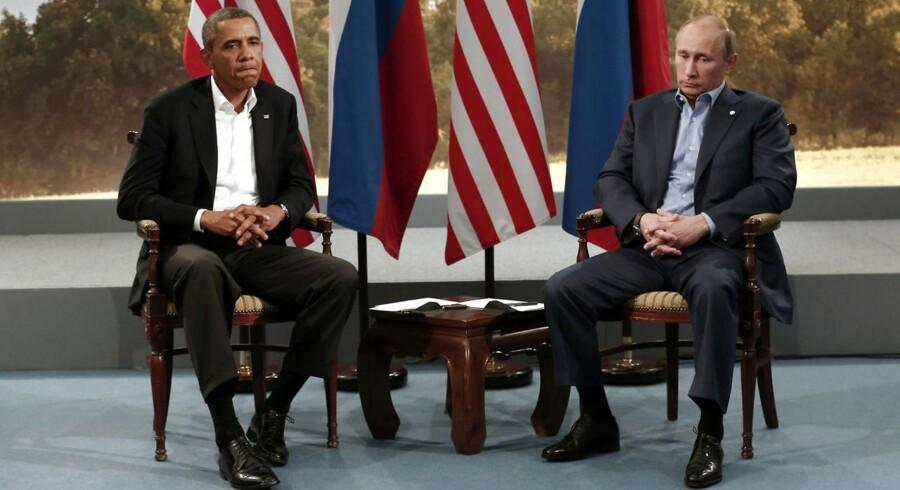 Olie kan blive det næste stridspunkt mellem Obama og Putin.