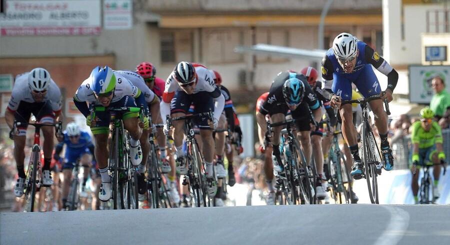 BMC var hurtigst, da Tirreno-Adriatico blev indledt med en holdtidskørsel på 21,5 kilometer.