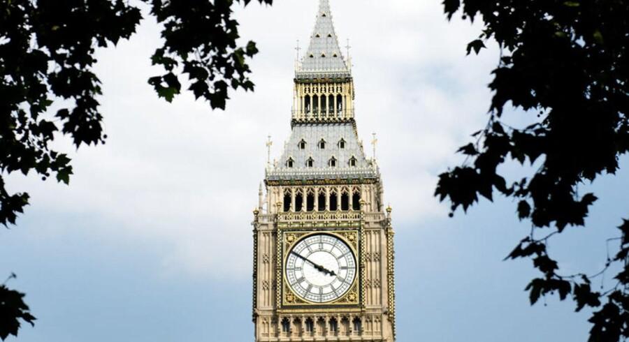 Valget på London er truffet, da det allerede er et shipping-centrum.
