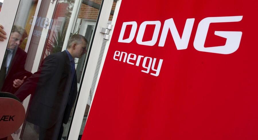 DONG Energys forbrug til kantine og rejser indgår ikke i Rigsrevisionens undersøgelse.