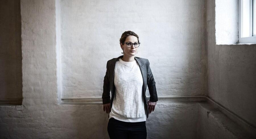 Enhedslistens Pernille Skipper på hendes kontor på Christiansborg i København.