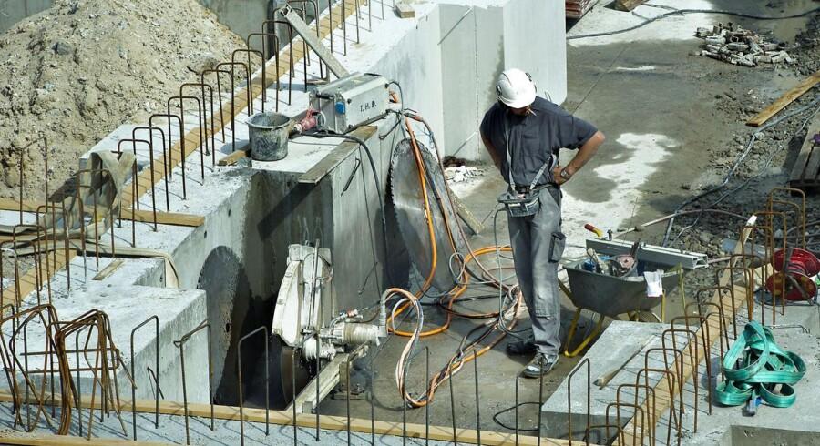 Byggeriet vil få en lille fremgang i beskæftigelsen i år, men ellers ser det ikke alt for godt ud.