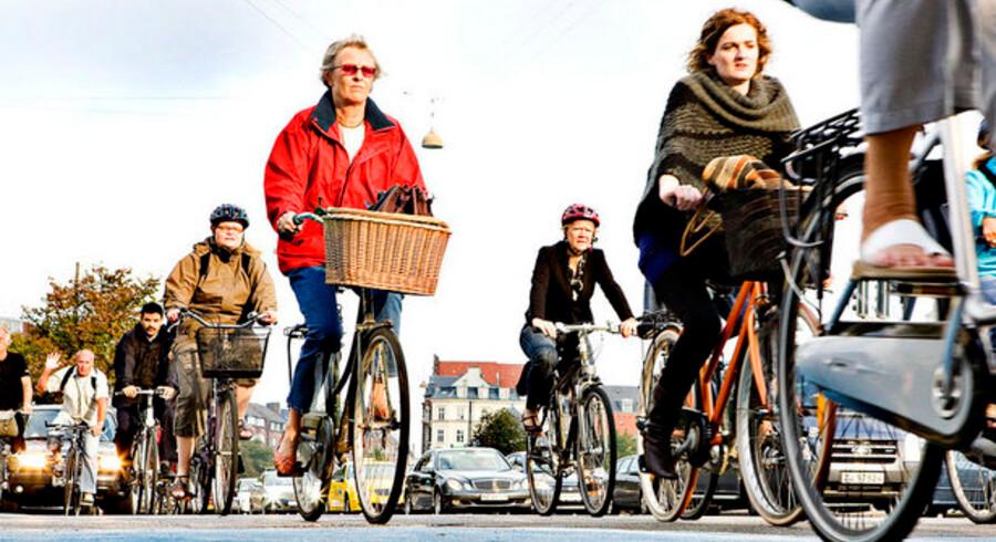 Lavere skat kan lokke flere til at cykle på arbejde.