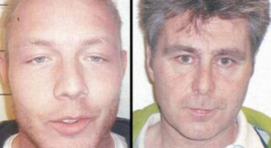 De to flygtende, der holdt en kniv for struben af fængslesbetjenten, efterlyses internationalt.