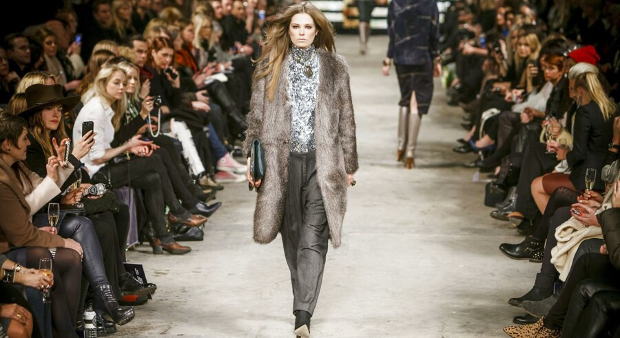 Copenhagen Fashion Week. By Malene Birger. Torsdag d. 30. januar 2014.