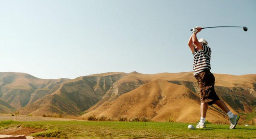 Lost Canyons er en af Californiens fantastiske golfbaner, hvor man måske frem over skal betale en afgift til staten for at spille.