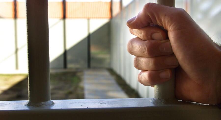 ARKIVFOTO. Isolation af unge i de danske fængsler skal stoppes, mener SF's retsordfører, der er overrasket over omfanget. (Foto: ERNST VAN NORDE/Scanpix 2012)