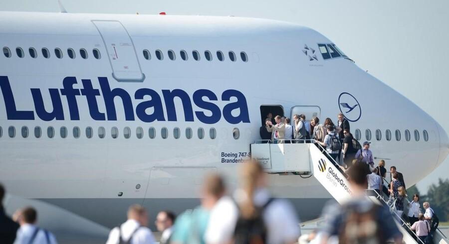 Lufthansa - som er i alliance med blandt andre SAS - siges at forhandle om en fusion med Turkish Airlines.