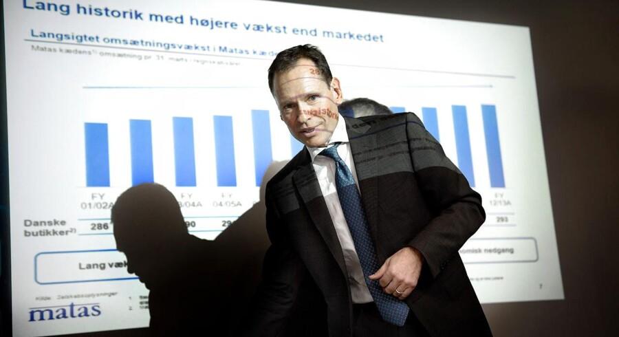 Matas med administrerende direktør Terje List i spidsen stod for året største, danske børsnotering i 2013.