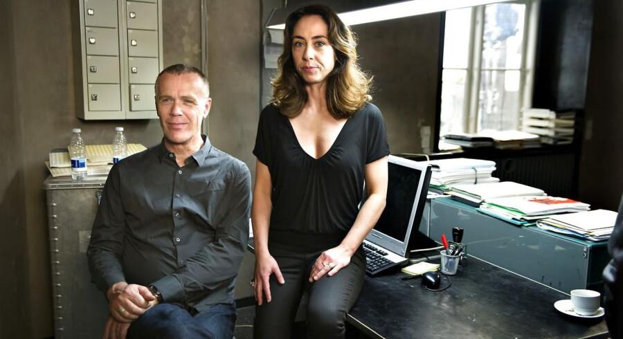 Morten Suurballe og Sofie Gråbøl optræder i aften for sidste gang i rollerne som drabschef Brix og vicepolitikommisær Sarah Lund.