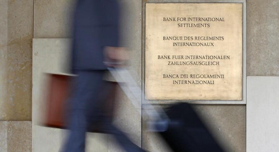Hovedkvarteret for Bank for International Settlements (BIS) in Basel.