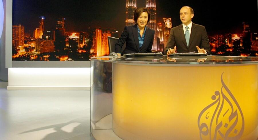 Al-Jazeera sender fra en række lande i Mellemøsten og Sydøstasien.