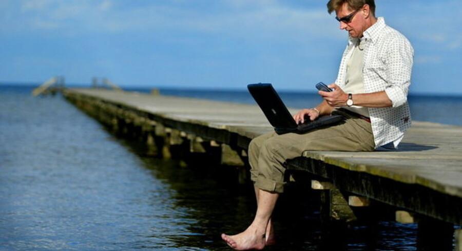Fri telefon og arbejdsgiverbetalt computer er blandt de frynsegoder, som Skattekommissionen har kig på.