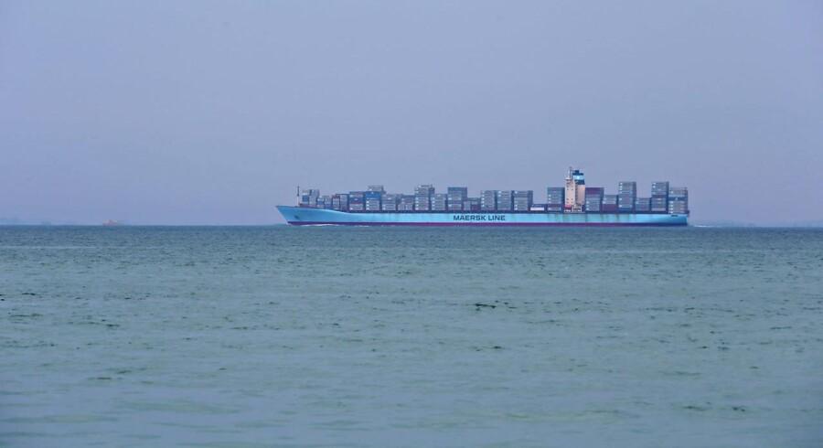 Maersk Line vil hæve priserne på transport af containere omkring Middelhavet.