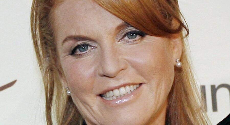 Sarah Ferguson har tidligere været gift med prins Andrew.