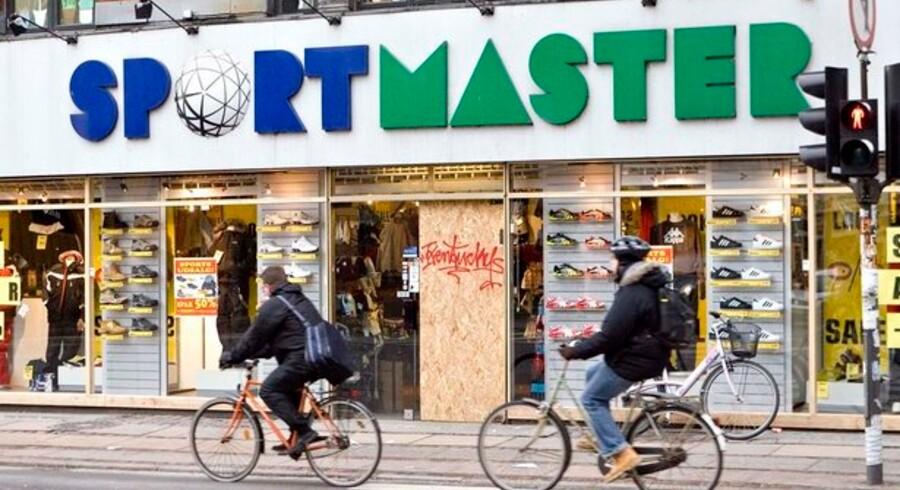 De danske sportsbutikker oplevede i 2007 en omsætningsvækst over 8 procent. I 2008 er tallet faldet til 2,9 procent.
