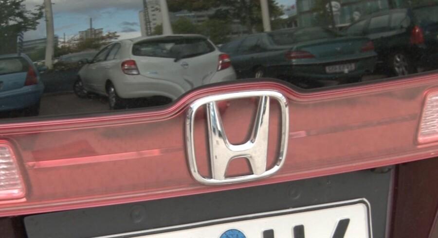 Honda mener, brintbilen er fremtiden. Og Danmark skal være et af foregangslandene for deres satsning. Foto: Mads Nyborg Anneberg