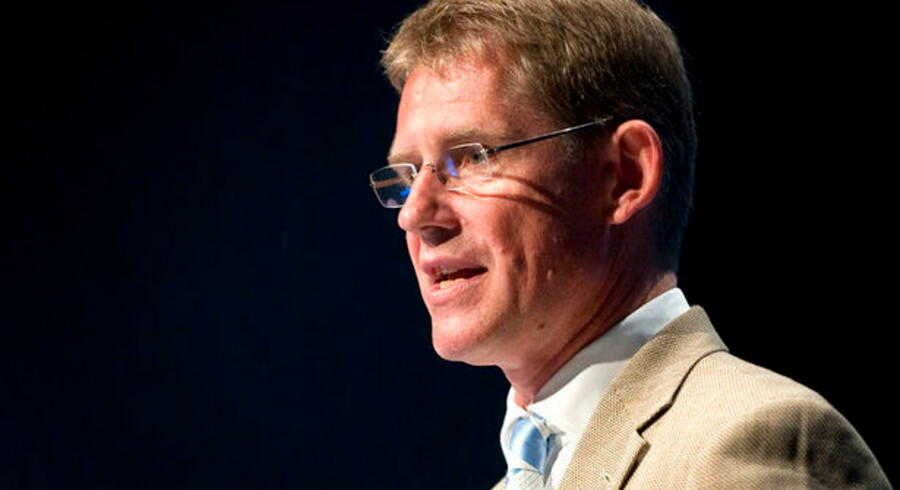 I forbindelse med Dansk Erhvervs Årsdag i Bella Centeret afleverede Lars Rebien Sørensen et par korte kommentarer om sagen.
