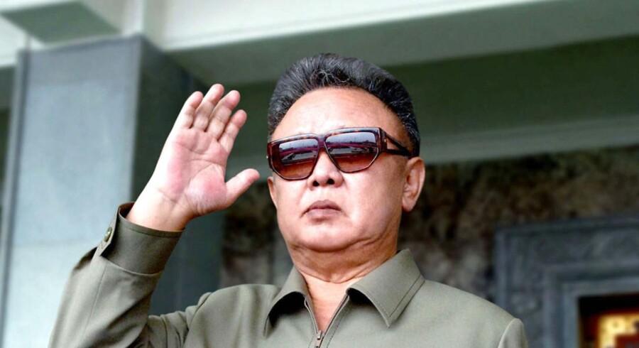 Den nu afdøde Kim Jong-Il bliver af sit eget barnebarn betragtet som en diktator.