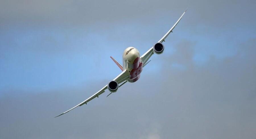 Dreamlineren - Boeing 787 - har givet anledning til bekymringer, men ordrer vælter nærmest ind.