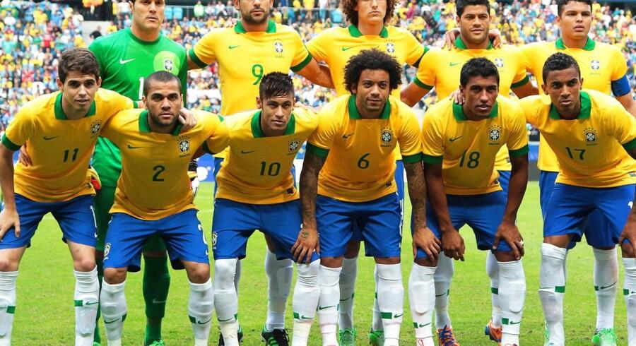 Brasilien har udtaget de spillere, der skal repræsentere holdet ved VM på hjemmebane.