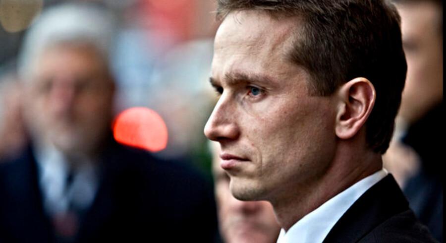 Skatteminister Kristian Jensen vil ikke acceptere, at der skulle findes en nedre grænse for, hvor stor en gæld Skat bruger kræfter på at inddrive.