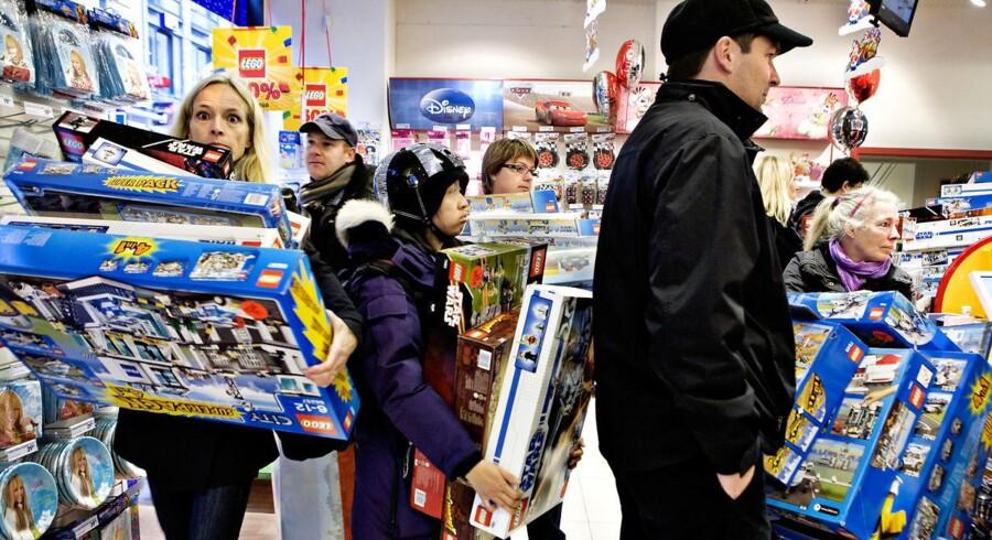 Der er gang i salget, men stigende omkostninger presser indtjeningen i bund for Top-toys, der blandt andet står bag Fætter BR.