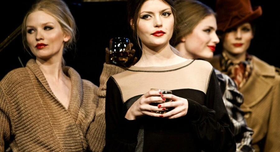 Margit Brandt modeshow på Copenhagen Fashion Week februar 2011.