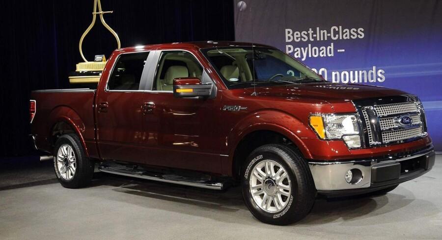Amerikanerne elsker stadig deres pickup-trucks. Her Ford F-150.