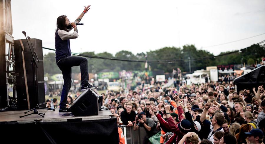 Sukkerlyn spiller på Street City Stage søndag den 28. juni 2015 på Roskilde Festival.