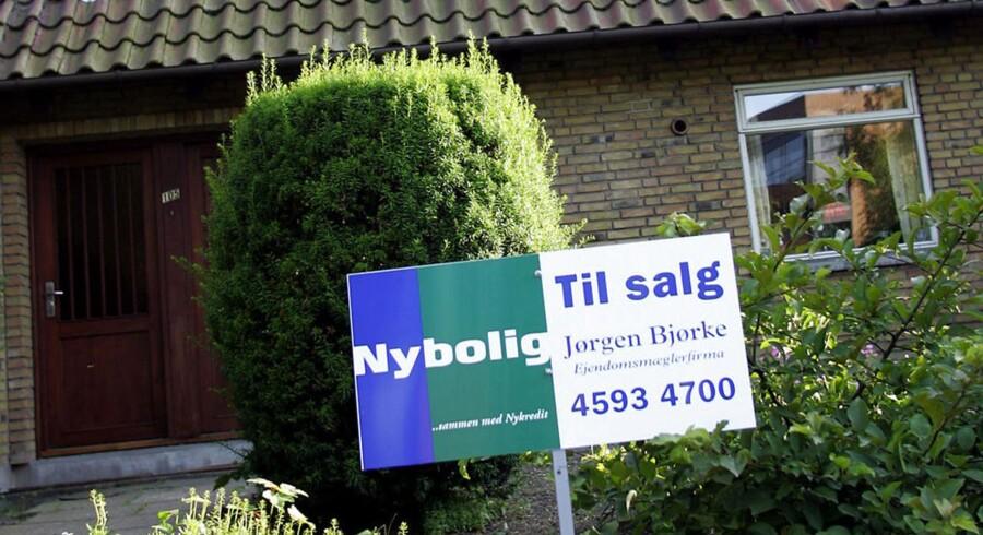 Oktober sidste år bød på et mindre dyk i boligpriserne.