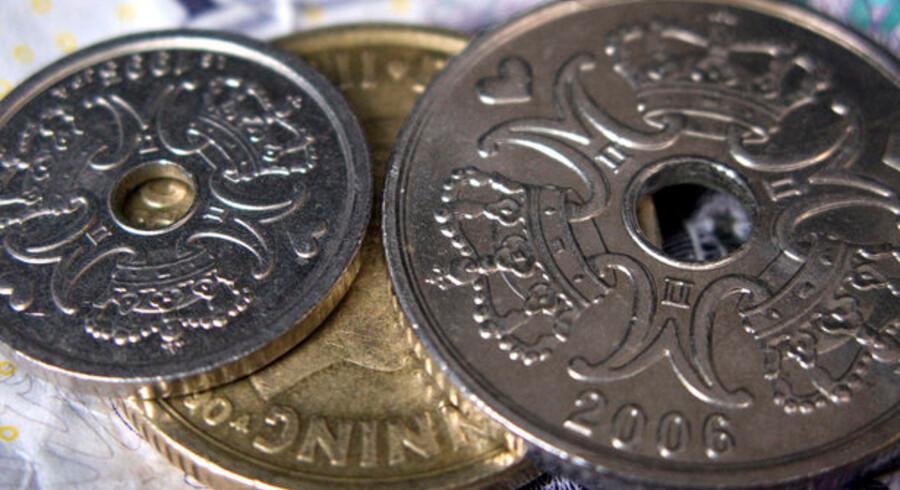 Siden toppen i tredje kvartal i 2007 er danskernes formue faldet med 311 milliarder kroner. Det svarer til 58.000 kroner per danske statsborger.