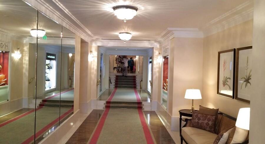 Et billede inde fra hotellet.