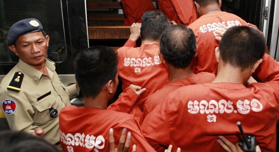 En cambodjansk flygtning, der opholder sig i Danmark, er blevet dømt for at planlægge et regeringskup.