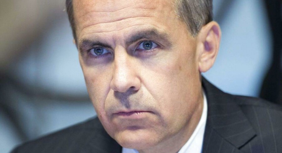 Mark Carney, chef for Bank of England.