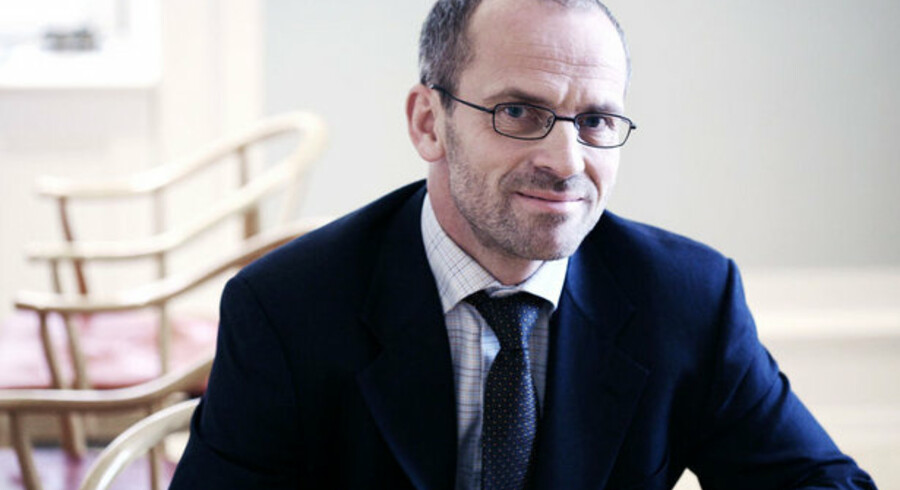 """Jeppe Christiansen, direktør for Lønmodtagernes Dyrtidsfond: """"Nu har vi snart nået et punkt, hvor man skal huske aktierne."""""""