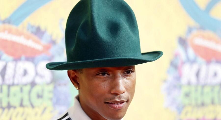 Pharrel Williams kommer snart til byen - måske endda med den berømte vintage-hat, han har gjort kult.