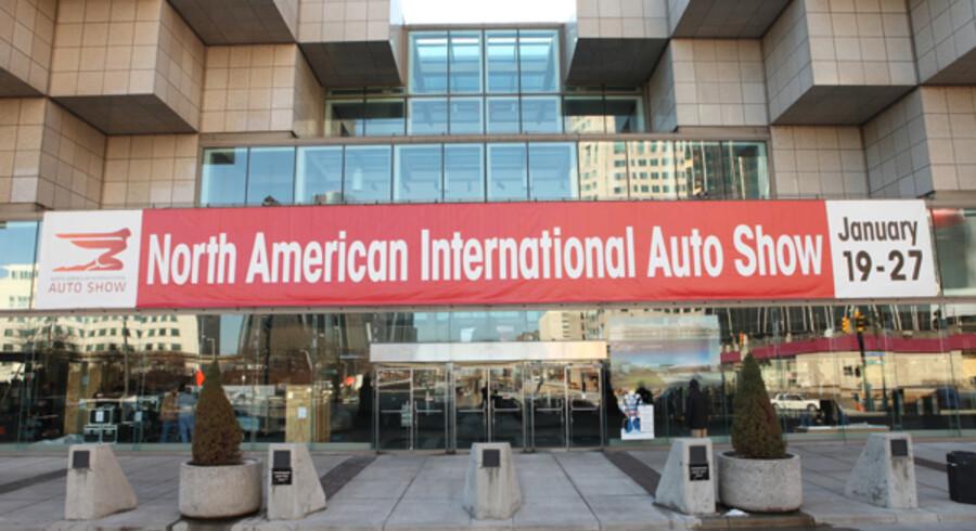Det er her bil-messen i Detroit kommer til at foregå. Fra d. 19-29. januar er dørene åbne for offentligheden. Sidste år var der i den periode over 700.000 besøgende.