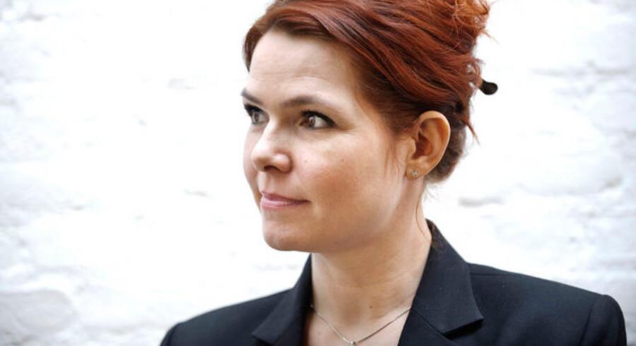 Beskæftigelsesminister Inger Støjberg (V)