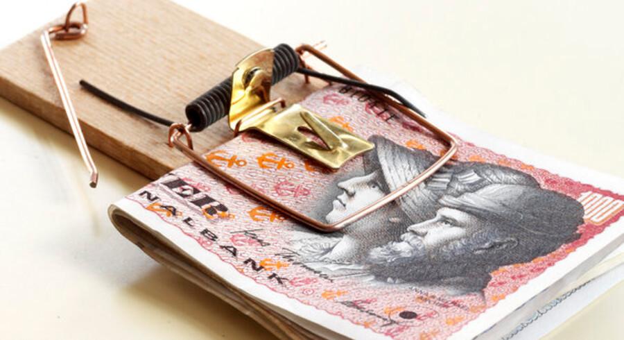 Det kan være lidt af en fælde at aftale et overtræk med banken - det faktisk billigere bare at hæve pengene.