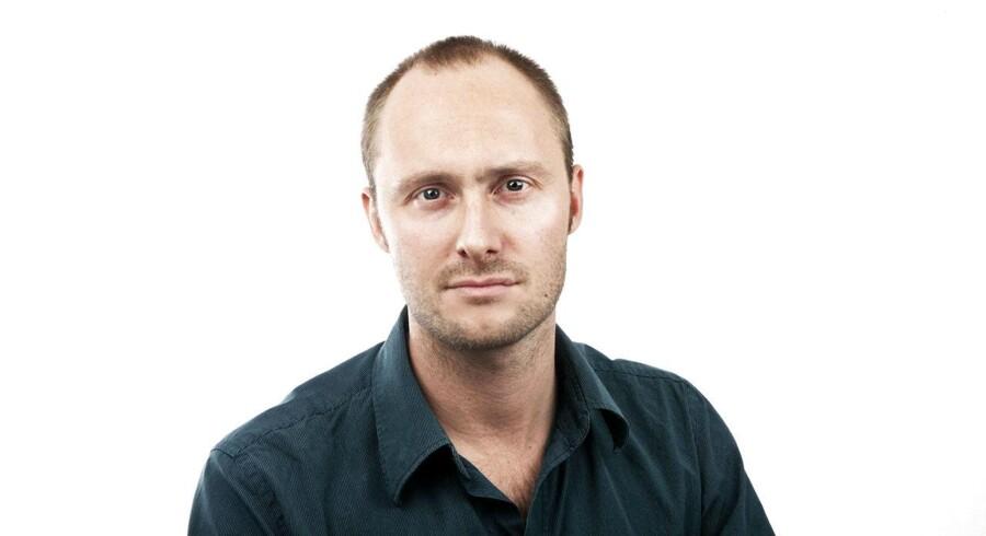 Jakob Ussing, Erhvervsjournalist