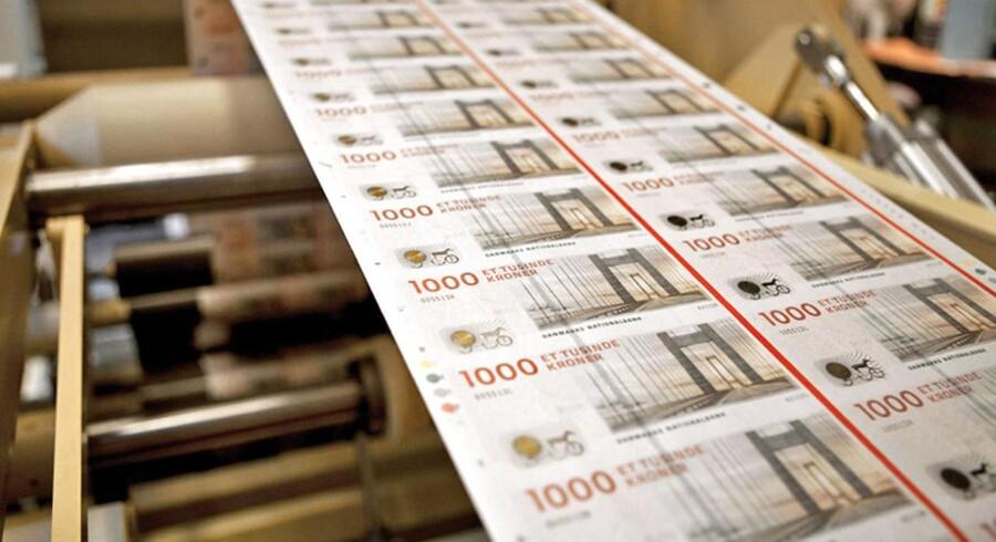 Også i Tønder Bank så pengetanken stærk ud inden krakket, men det var for en stor del på grund af lånte penge.
